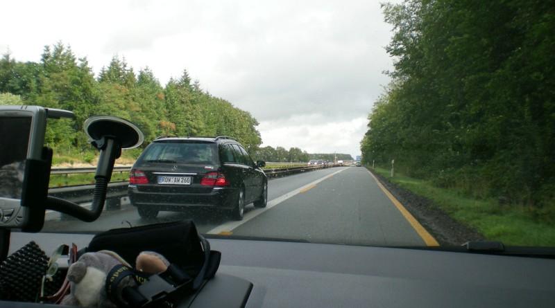 Zweden 2009 - Onderweg