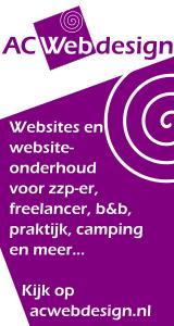 Deze site is gemaakt door AC Webdesign