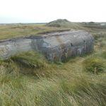Denemarken 2015 - richting Sondervig, bunker